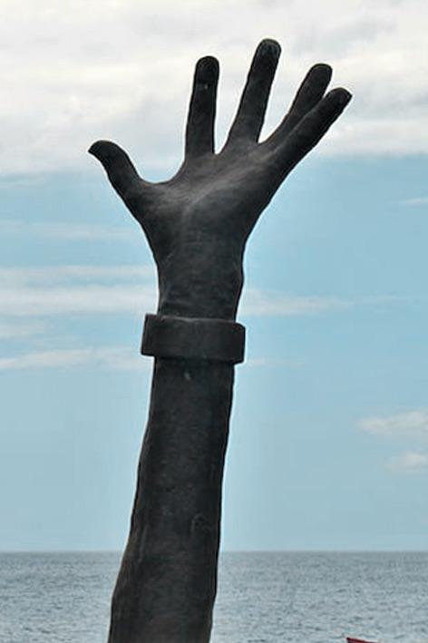 Le Monument du 22 mai | Le Prêcheur [ Martinique ] | Hector Charpentier