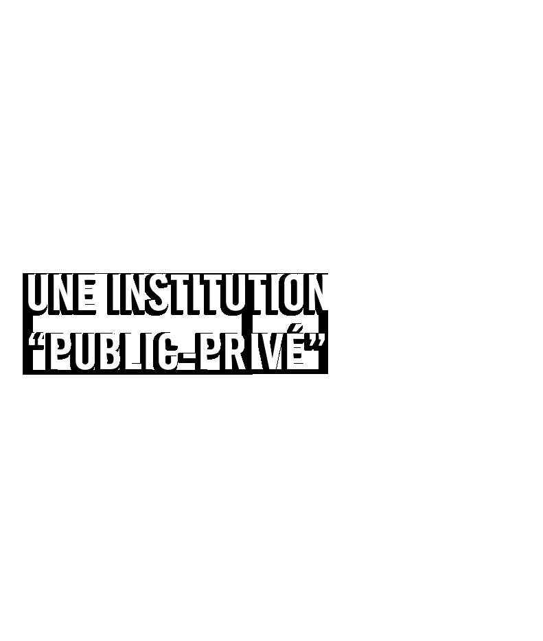 Une institution public-privé