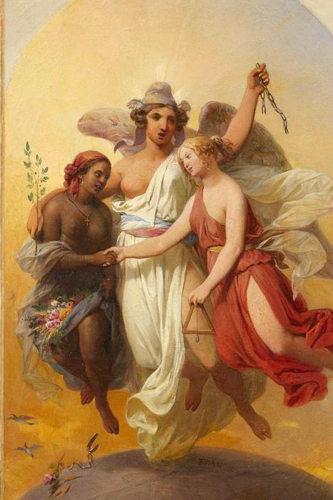 L'Esclavage affranchi • Nicolas Louis François GOSSE