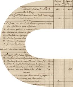 Chaîne registre d'esclave