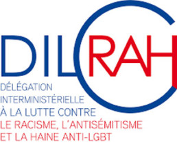 logo Dilcah Délégation interministérielle à la lutte contre le racisme, l'antisémitisme et la haine anti-lgbt
