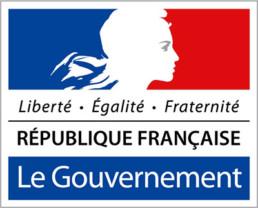 logo Gouvernement république Française - Liberté égalité fraternité